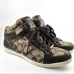 Coach Zany High Top Sneaker